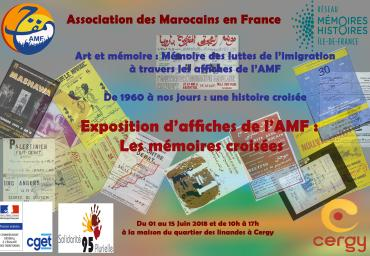 Exposition d'affiches AMF Cergy